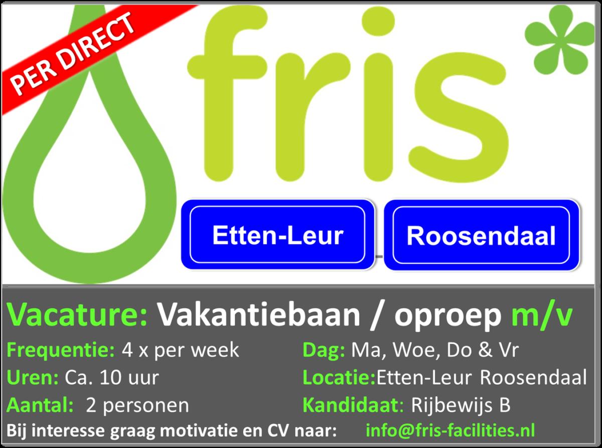 Vakantiebaan Etten-Leur Roosendaal