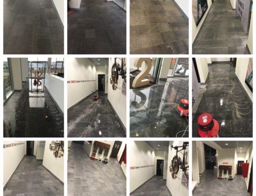Vloer onderhoud natuursteen
