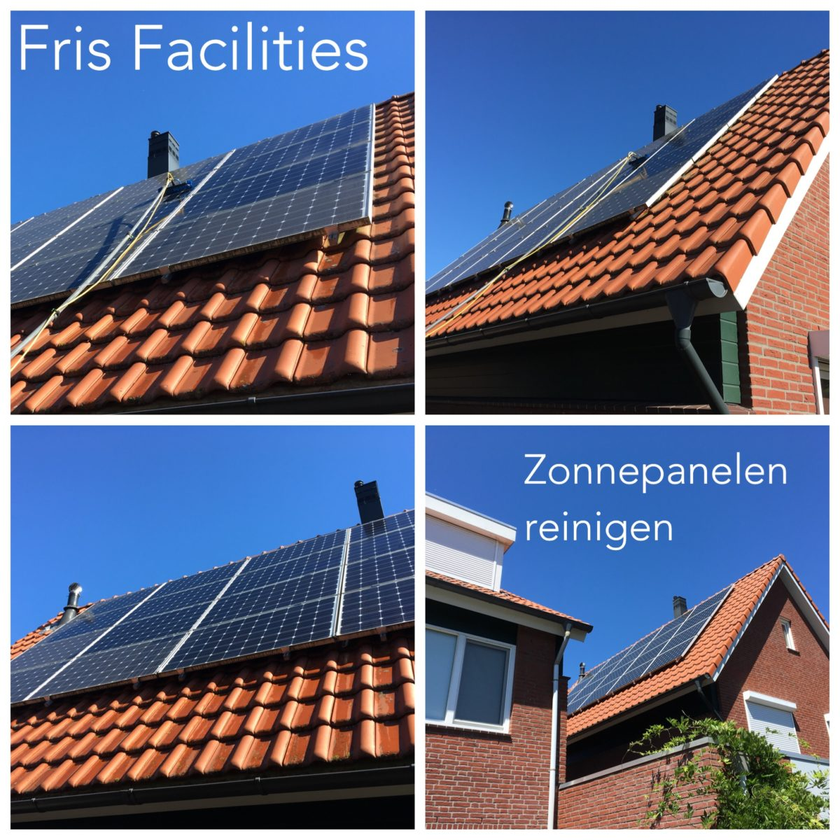 zonnepanelen reinigen fris facilities
